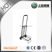 High quality luggage cart two wheels shopping cart trolley luggage