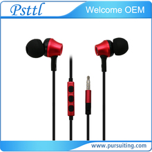 Ufeeling 3.5mm In-ear Earphones Stereo bass headset Wired Earbuds with microphone for phone