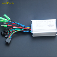 48V Electric Bike Controller Ebike LED LCD Controller Sine Wave Controller 500W Components for Ebike Conversion Kit