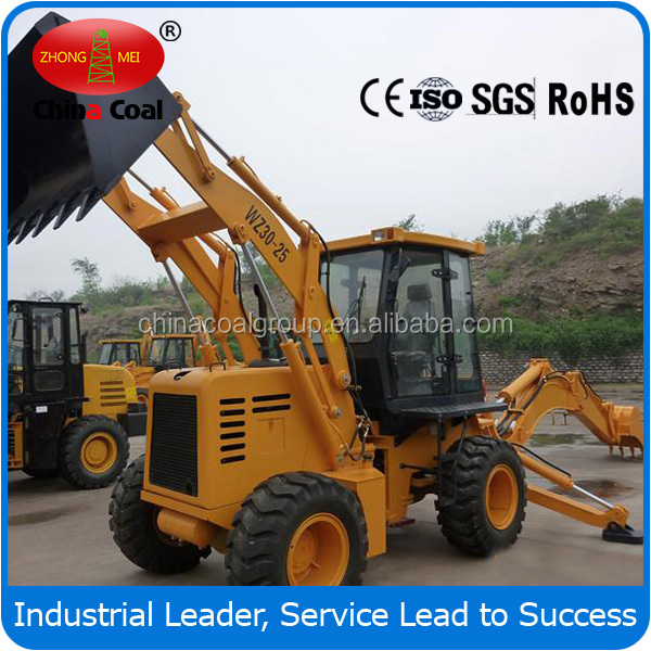 Wheel backhoe loader WZ30-25,mini wheel loader for sale