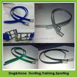high quality pvc stirrup strap with webbing for horse racing