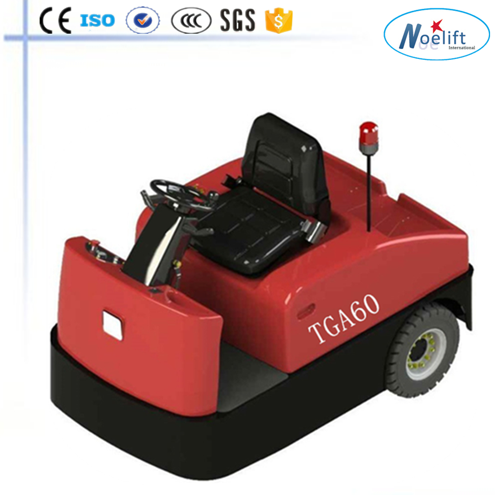 electric towing trolley, towing vehicle used in Railway Station, electric tow tractor