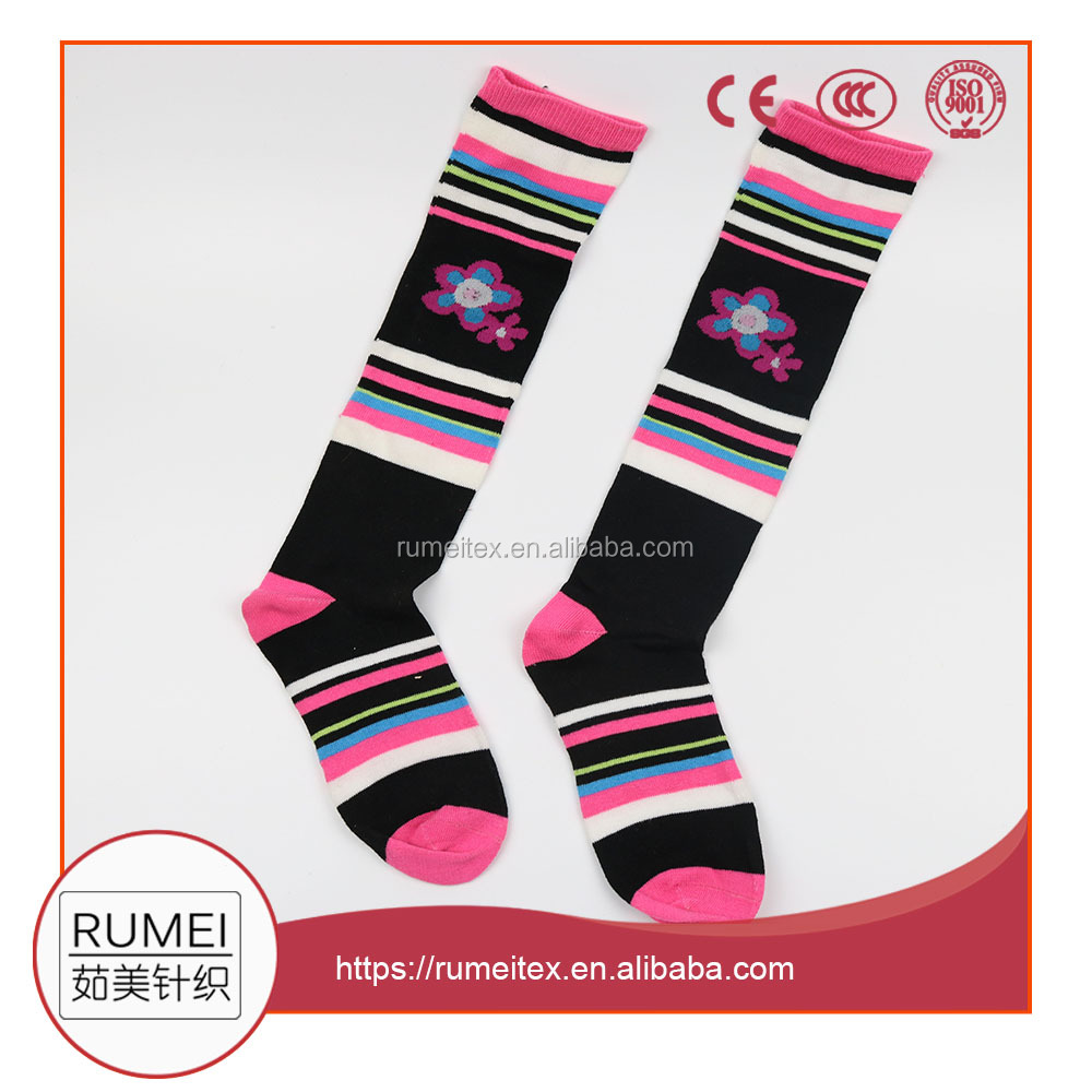 School hot Young Girls Teen Knee High Tube socks wholesale