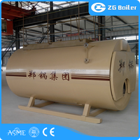 2016 most safe wns industrial LDO fuel boiler for chemical industry