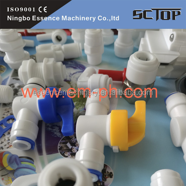 Female Straight Pneumatic Push Fittings metric barbed hose fittings plastic elbow fitting