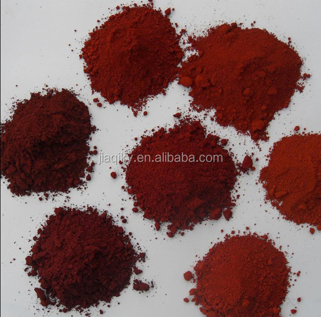 High grade iron oxide red 130 110 120 190 for ceramic tile floor