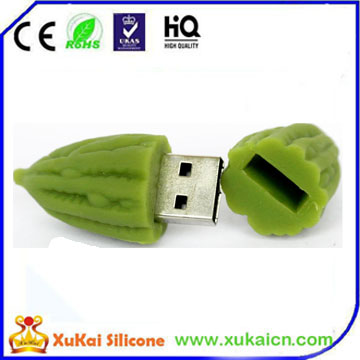 3D silicone vegetable USB