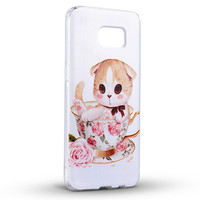 3D DIY relief tpu hard mobile phone case cover for lenovo sisley s90