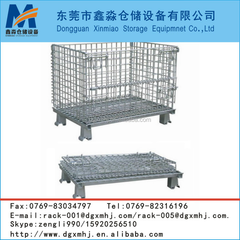 International Collapsible Warehouse Storage Cage/Metal storage container