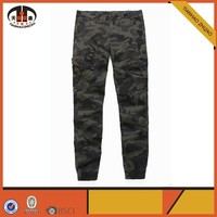 Men Baggy Army Green Harem Pants
