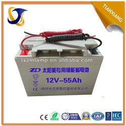 factory wholesale battery 12v 60ah