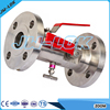 stainless steel double block and bleed valve