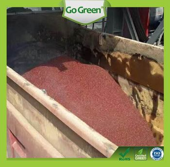 Hot Mix Color Bitumen / Asphalt Coloring System / Road Construction Asphalt