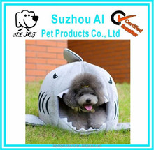 Cute Soft Warm Shark Mouth Shape Pets House Bed for Dog