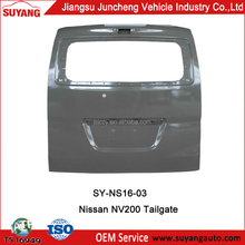 Replacement Steel Tailgate For NV200 Auto Body Parts