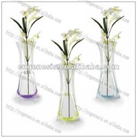 2016 innovative plastic folding flower vase
