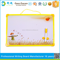 magnetic children dry eraser writing board for christmas gift