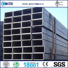 ERW,ERW welded cold rolled Q235 rectangular/square carbon steel pipe/ tube