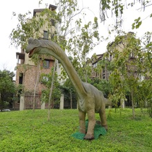 High simulation life-size t-rex dinosaur model of playground