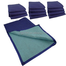 non woven zig stitching furniture padding moving blanket