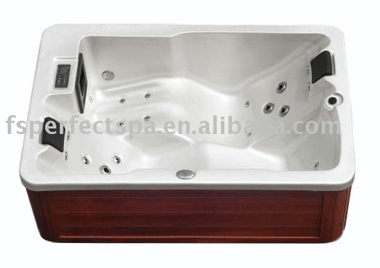 two person outdoor jet spa whirlpool portable bathtub