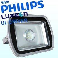 Philips luxeon M and Philips Driver 50 watt 12 volt led flood light