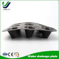 Best Price Plastic Water Drainage Board,PP Biaxial Geogrid in Hot Sale