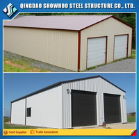 Prefabricated Low Cost Steel Structure Frame Garden Shed Design Metal Shed For Sale