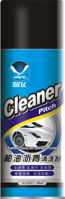 Pitch Cleaner for Car Care Products, Washing Made-easy