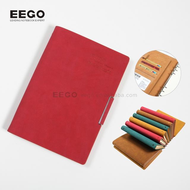 2017 diary ring binder notepad luxury document organizer