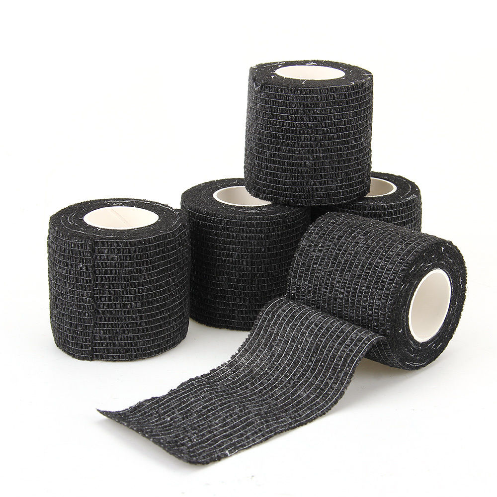 Tattoo Self-adhesive Elastic Bandage Wrap 5cm for Tattoo Grip tube