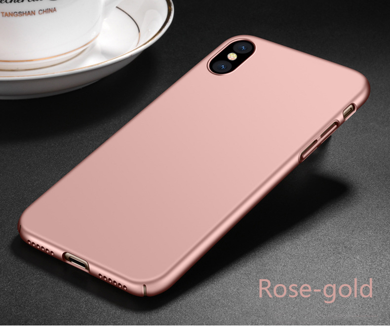 Free Sample hard back cover For iPhone X, 360 degree pc phone cover for iphone X 10 case
