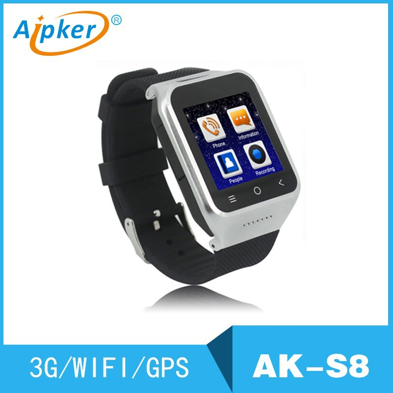 New 2017 Products Android Smart Watch With Bluetooth/WIFI/GPS/3G <strong>GSM</strong>