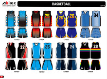 100%polyester custom design uniforms digital sublimated printing basketball jersey