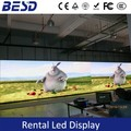 Shenzhen factory price high stability 1/16 scan SMD2121 full color p3.91 p4.81 indoor rental led display
