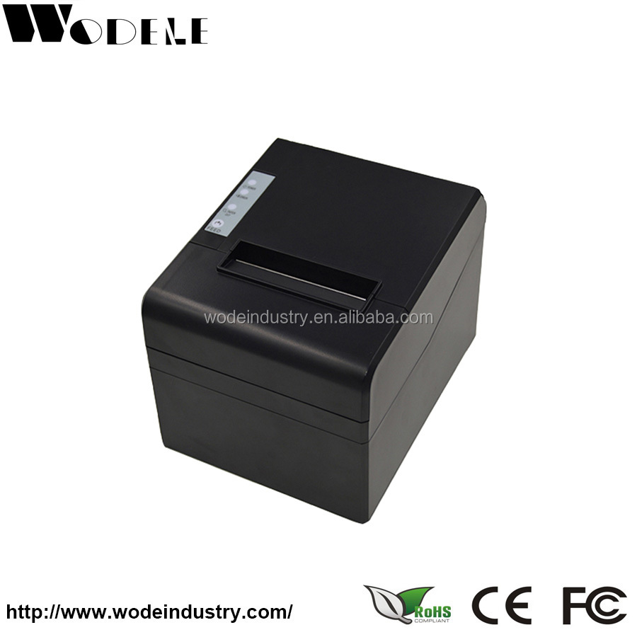 Computer Cell Phone Bill Printing Machine 80mm POS Thermal Receipt Printer with Auto Cutter