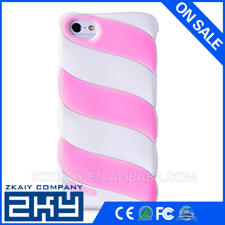 3D silicone mobile phone cover For iphone 5s silicone case for 5 5s silicone cover