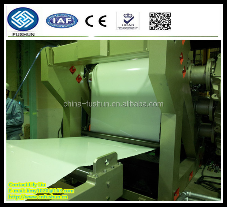 PP starch biodegradable plastic sheet extrusion machine