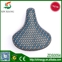 cartoon colorful child bicycle saddle in alibaba china