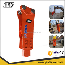 concrete breaker attachment for excavator