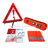 Top selling competition portable roadside emergency kit/auto car first aid