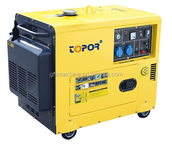 Best design home use 8kva silent diesel generator set made in China