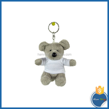 Mouse Keychain wearing Sublimation T Shirt Plush toy