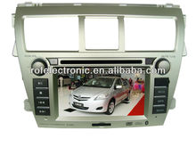 Touch screen car dvd for Toyota new Vios with bluetooth