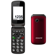 Free Shipping 2017 Stock Flip Phone for the old and low vision people with Coupon Code SF85 and gift