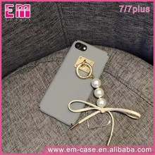 pc pearl jewelry mobile phone accessories case for iphone7/7plus