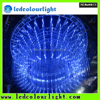 Factory led tube 16 pixels per meter SMD5050 3D led hanging tube light