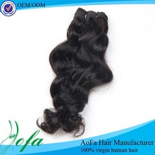 Nature girl hair weave, top quality human hair weave