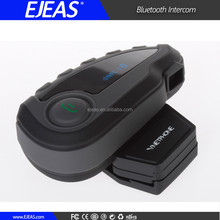 Ejeas 5 riders FM radio motorcycle helmet wireless bluetooth headset