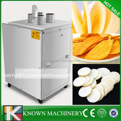 Factory supply stainless steel orange fruit and vegetable strawberry slicer cutting machine